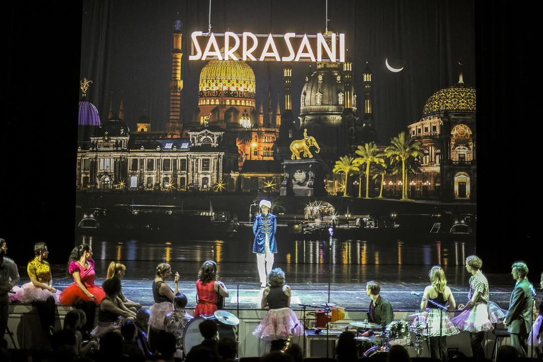 Circus Sarrasani. The greatest show on earth